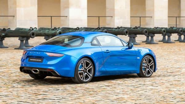 Canon cette Alpine A110 nouvelle génération!