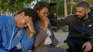 "Drake dans le clip ""God's Plan"""