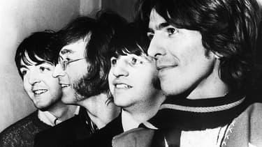 Les Beatles en 1968.