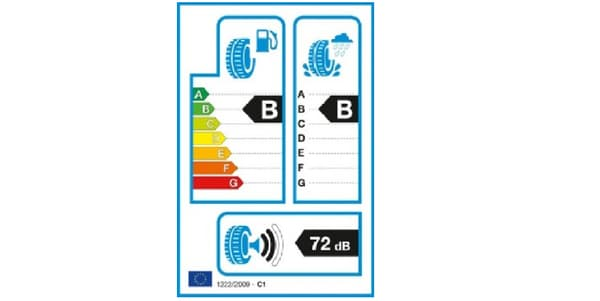 Étiquetage européen pneus