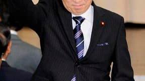 Le ministre japonais des Finances, Naoto Kan, a été élu vendredi à la tête du Parti démocrate (PDJ) au pouvoir, puis au poste de Premier ministre à l'issue d'un vote de pure forme de la chambre basse du Parlement. /Photo prise le 4 juin 2010/REUTERS/Kyodo
