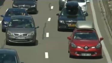 Beaucoup de monde sur la route ce week-end et de fortes chaleurs