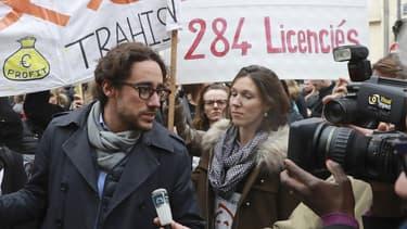 Thomas Hollande a pris la défense des 284 visiteurs médicaux licenciés en France par le laboratoire japonais Daiichi-Sankyo.