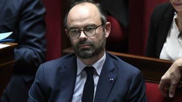 Le Premier ministre Edouard Philippe à l'Assemblée nationale le 17 janvier 2018