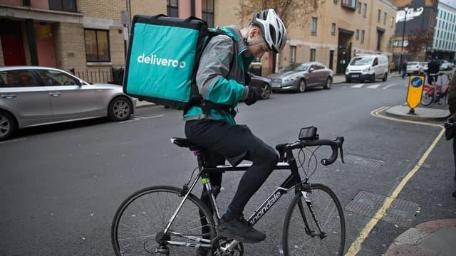Un livreur Deliveroo (image d'illustration).