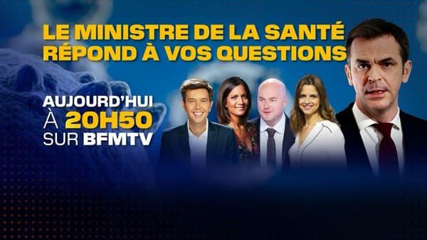 Olivier Véran invité de BFMTV le 17 mai à 20h50.