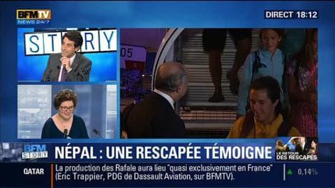 Séisme au Népal: 206 rescapés sont de retour en France