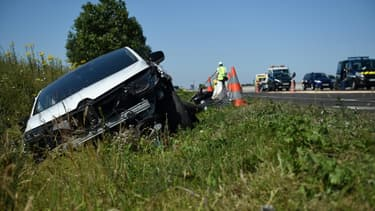 Le nombre de personnes tuées sur les routes de France métropolitaine a baissé de 11,3% selon les chiffres de la Sécurité routière.