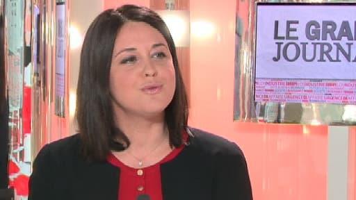 Sylvia Pinel, la ministre déléguée à l'Artisanat, au Commerce et au Tourisme, était dans le Grand Journal d'Hedwige Chebrillon le 11 avril 2013.