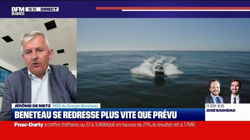 Jérôme de Metz (PDG Beneteau):