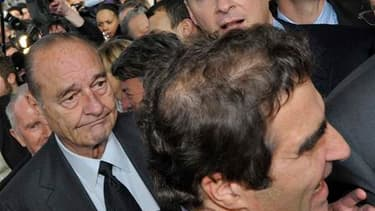Jacques Chirac au salon de l'agriculture.