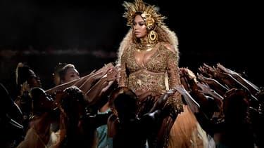 Beyonce lors des Grammy Awards 2017 -
