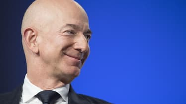 Jeff Bezos a vendu près d'un million de titres Amazon