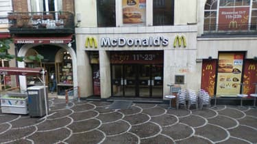 L'un des fast-food McDonald's, à Lille.