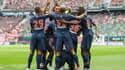 La joie collective des joueurs du PSG