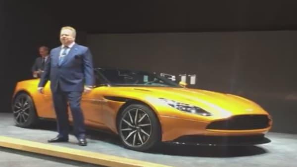 Aston Martin a dévoilé la DB la plus puissante de son histoire, la DB11.