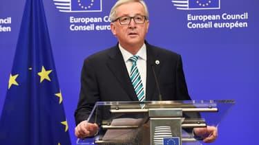"""Jean-Claude Juncker a averti Londres que sa sortie de l'UE ne se ferait pas à """"coûts réduits""""."""
