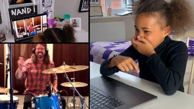 Nandi Bushell réagit à la vidéo de Dave Grohl, des Foo Gighters