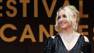 Madonna au Festival de Cannes en 2008