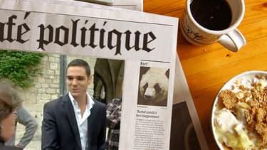 Le jeune Etienne Bousquet-Cassagne, 23 ans, n'est pas encore parfaitement rodé en communication.