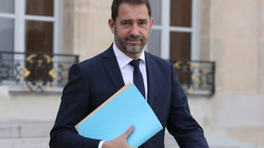 """Le porte-parole du gouvernement et secrétaire d'Etat aux relations avec le Parlement Christophe Castaner pressenti pour devenir délégué général de """"La République en marche""""."""
