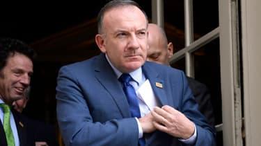Pierre Gattaz, ici en janvier 2014, a critiqué le Pacte de responsabilité depuis les Etats-Unis.