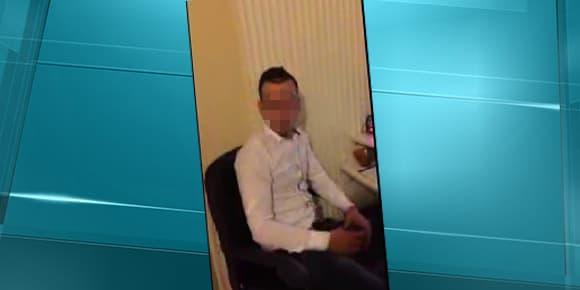 """Le jeune homme, dans la vidéo où il se présente comme le """"nouveau Mohamed Merah""""."""