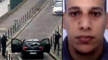 Chérif Kouachi, l'un des deux suspects de la fusillade de Charlie Hebdo.