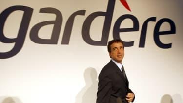 Arnaud Lagardère a repris ses emplettes sur le web en 2012