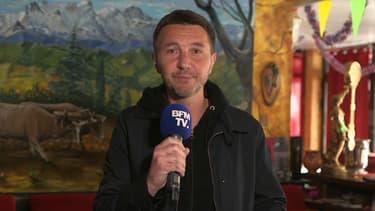 Le porte-parole du NPA Olivier Besancenot, le 26 avril 2019 sur BFMTV.