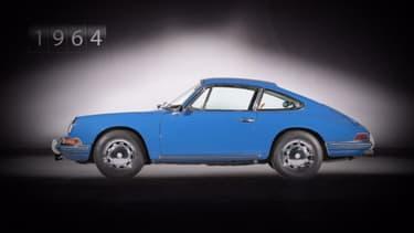 La première génération sortie en 1964