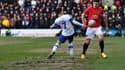 Morris (Tranmere) et Maguire (Manchester United)