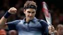 Roger Federer, vendredi, à Paris-Bercy.