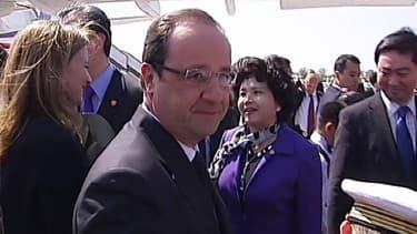 François Hollande a entamé jeudi en Chine une visite de 37 heures dont les enjeux sont tant politiques qu'économiques.
