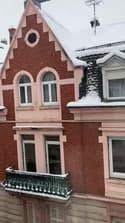 La neige a recouvert Mulhouse - Témoins BFMTV