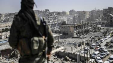 Raqqa, en octobre 2017.