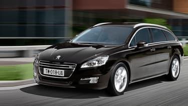 La Peugeot 508 est l'un des modèles qui pourrait être produit en Allemagne.