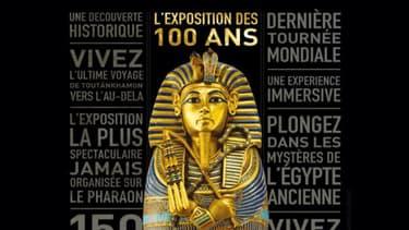 """""""Le trésor du Pharaon"""", l'exposition-événement à la Grande Halle de La Villette."""