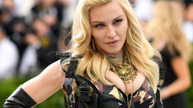 Madonna le 1er mai 2017 à New York. -