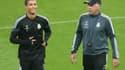 Carlo Ancelotti et Cristiano Ronaldo
