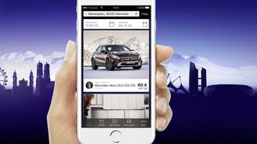 La plateforme Croove de Mercedes est lancée à Munich pour commencer et elle est ouverte à toutes les marques de véhicules.