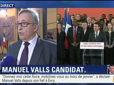 """Candidature de Valls: """"Il a dit les choses avec franchise"""", Francis Chouat"""