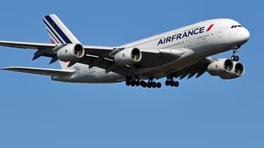 Un Airbus A380 d'Air France