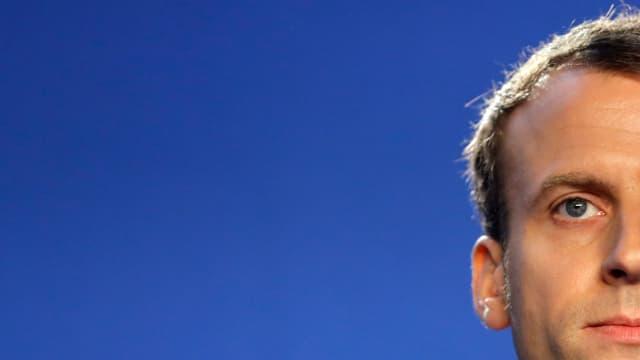 Emmanuel Macron, le 16 novembre 2016.