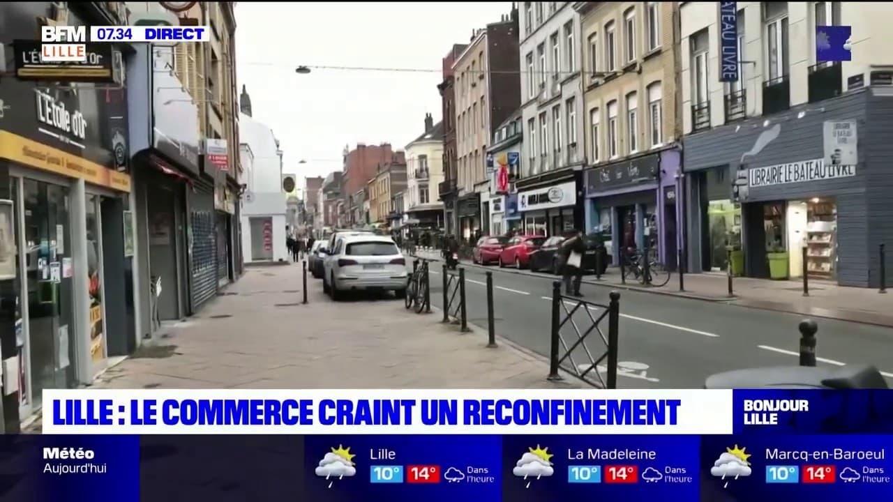 Lille: les commerçants redoutent les conséquences d'un reconfinement