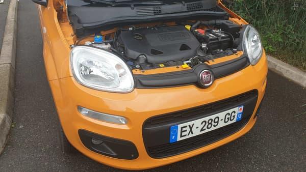 Sous la capot, le moteur twinair fonctionne au choix à l'essence ou au GNV.