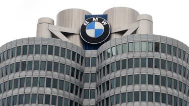 Le siège de BMW à Munich en Allemagne.