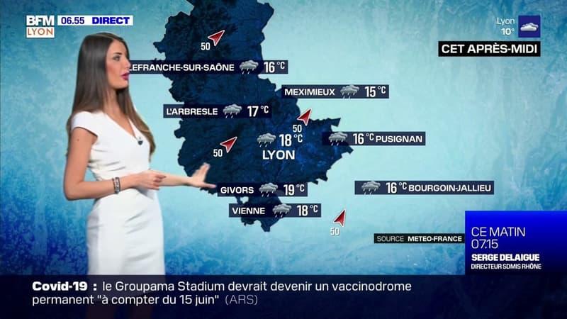 Météo Rhône: de la pluie et du vent au programme ce jeudi