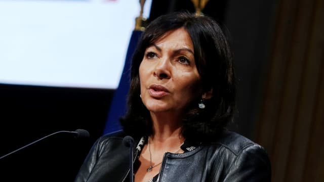 La maire PS de Paris, Anne Hidalgo.