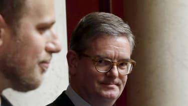 L'ancien ambassadeur britannique à Paris en juin 2016 à l'Assemblée Nationale